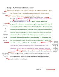 annotated bibliographic citation