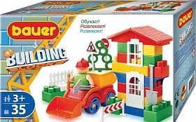 330 <b>Конструктор Bauer серии Стройка</b> 35 эл. (в коробке)
