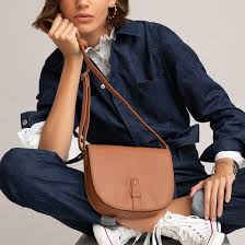 <b>Сумка</b>-<b>шоппер</b> маленькая из кожи <b>La Redoute</b> Collections   La ...