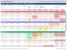 flexible employee scheduling software scheduleanywhere online schedule maker weekly view