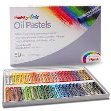 Цена на Набор <b>масляной пастели Pentel</b> 50 цв, в картонной ...