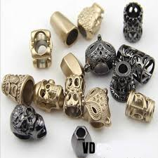 <b>Metal</b> Cord Lock Stopper DIY Pants Cap Rope Cord End Clasp Lock ...