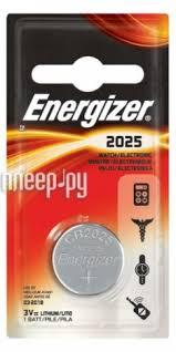 Купить <b>CR2025</b> - <b>Energizer</b> Miniature Enr <b>Lithium</b> PIP1 (1 штука ...