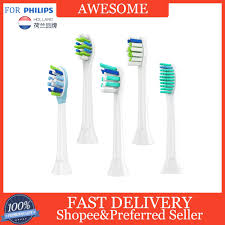 <b>4Pcs Replacement</b> Toothbrush Heads For Philips Sonicare Electric ...