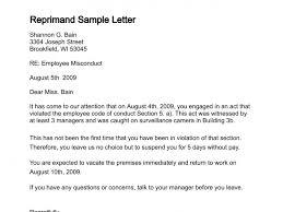 employee wrong doing sample letter of admonitionreprimand sample letter