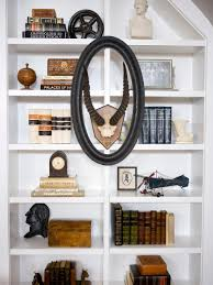 Wall Bookshelf Bookshelf And Wall Shelf Decorating Ideas Hgtv
