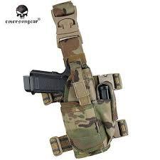EMERSON <b>Tornado Tactical</b> Leg Holster <b>Universal Pistol</b> Drop ...
