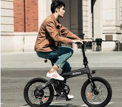 Grab <b>HIMO Z20 Foldable electric</b> power bicycle at $849.99| Mid ...