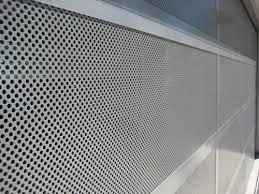 Risultati immagini per sectional door perforated