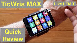 <b>TICWRIS MAX</b> (Like LEMFO LEM T) 2.86 Screen 2880mAh 8MP ...