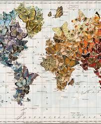 Wendy Gold: Push Pin Travel Maps | Globe Art | Map Wall Art
