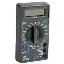 Купить <b>Мультиметр</b> цифровой <b>Universal M838</b> TMD-2S-838 <b>IEK</b>