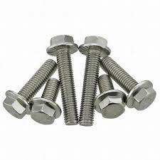 <b>2X</b> M5 M6 M8 M10 <b>304 Stainless Steel</b> Flanged Hex Head Bolts ...