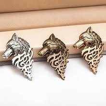Buy brooch <b>wolf</b> and get <b>free shipping</b> on AliExpress.com