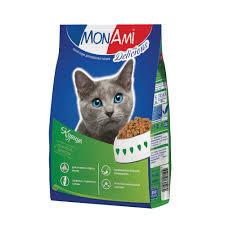 <b>Mon Ami</b> Сухой корм для <b>взрослых</b> котов Курица 10кг -