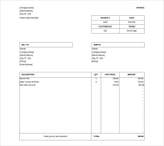 microsoft invoice  word excel pdf documents   microsoft billing invoice doc format