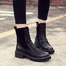 <b>British Stylish Style Shoes</b> For Women Winter Warm Plush Boots ...