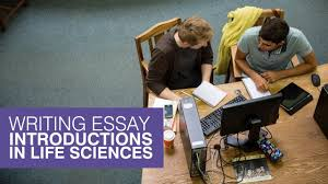 writing essay introductions in life sciences writing essay introductions in life sciences
