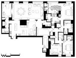 Penthouse Apartment Floor Plans  House Floor Plans Apartment    New York City Luxury Apartment Floor Plans