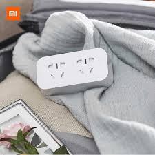 Xiao <b>mi</b> Оригинал <b>mi</b> jia <b>умная розетка</b> Улучшенная двойная USB ...