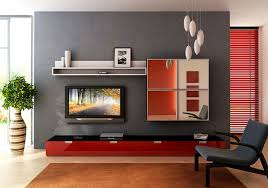 Red Wall Living Room Decorating Simple Apartment Living Room Ideas Red Wall Stone Wall Decor
