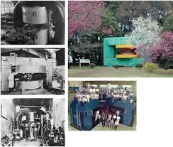 「1945年 - 理化学研究所仁科研究室サイクロトロン」の画像検索結果