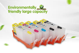 5pcs For HP364 Ink Cartridge for HP 364 XL For HP Pro 5520 5524 ...