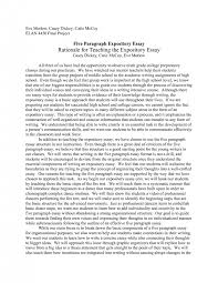 cover letter examples of an expository essay example of an    cover letter exposition essay example expository sampleexamples of an expository essay medium size