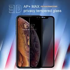 Nillkin Amazing <b>3D</b> AP+ Max privacy <b>tempered glass</b> screen ...