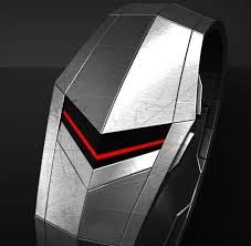 151 best images about watches men s leather clock futuristic chevron timepieces faceless led watch