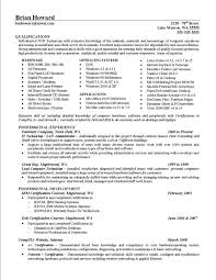 resume examples samples of achievements on resumes samples of   resume examples samples of achievements on resumes qualifications and professional experience as it technician