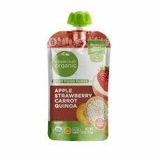<b>Simple</b> Truth <b>Organic</b>™ Apple Strawberry Carrot Quinoa <b>Stage 2</b> ...