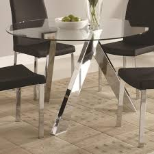 Acrylic Dining Room Chairs Clear Dining Table Stunning As Dining Room Table Sets And Round