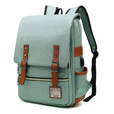China <b>Slim Laptop Backpack</b> with USB Charging Port, Vintage Tear ...