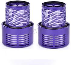 Techypro <b>2</b>-<b>Pack Replacement Parts</b> V10 Filter for Dyson Cyclone ...