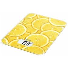 Купить <b>Весы</b> кухонные <b>Beurer KS 19</b> lemon в каталоге интернет ...