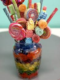 Image result for Take lollipops and make them into a beautiful candy bouquet
