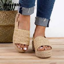 <b>MoneRffi</b> 2019 Summer <b>Women</b> Faux Suede Espadrilles Shoes ...