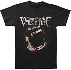 Bullet For My Valentine Men's Bite Slim Fit T-Shirt XX ... - Amazon.com
