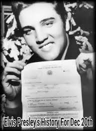 「Graceland, his newly purchased Tennessee mansion, rock-and-roll star Elvis Presley receives his draft notice for the United States Army.」の画像検索結果