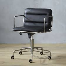 mad black office chair cb2 cb2 office