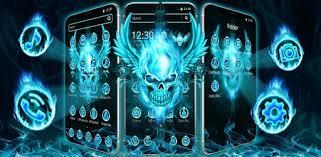 Flaming <b>Skull Wings</b> Theme – Apps on Google Play