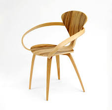 molded plywood chairs by cherner chair in exotic red gum wood cherner furniture