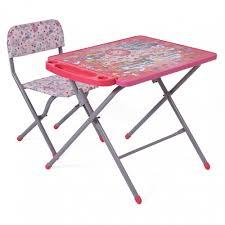 <b>Набор</b> детской <b>мебели Фея Досуг</b> 201 Алфавит, розовый ...