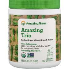 <b>Amazing Trio</b>, <b>Barley</b> Grass, Wheat Grass & Alfalfa - Amazing Grass ...