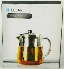 Леван стекло 4 чашек <b>чайник</b> с из нержавеющей стали ситечко и ...