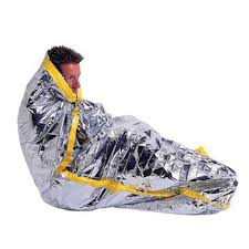 New Outdoor Water Proof Emergency Survival Rescue Blanket Foil ...