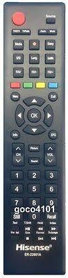 ER-22601A <b>ER22601A</b> ORIGINAL HISENSE <b>TV REMOTE</b> ...