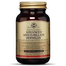 <b>Advanced Multi</b>-<b>Billion Dophilus</b>® Vegetable Capsules - <b>Solgar</b>