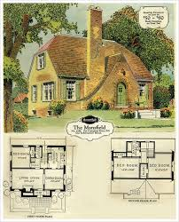 images about English Tudor cottages and homes on Pinterest    What did American Mid Century Homes Look Like